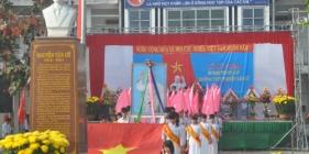 Trường THPT Nguyễn Văn Cừ (Quế Sơn) kỷ niệm 30 năm thành lập trường