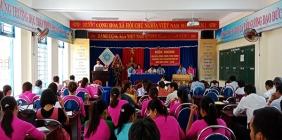 Hội nghị CB - CC - NLD - Năm học : 2018 - 2019